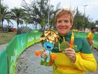 Carol Cooke made a great day in the Paralympics road cycling even better for Australia when she won gold in the 15km T2 time trial.