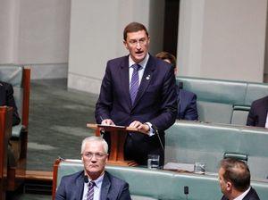 Julian Lesser moves Australia with maiden speech