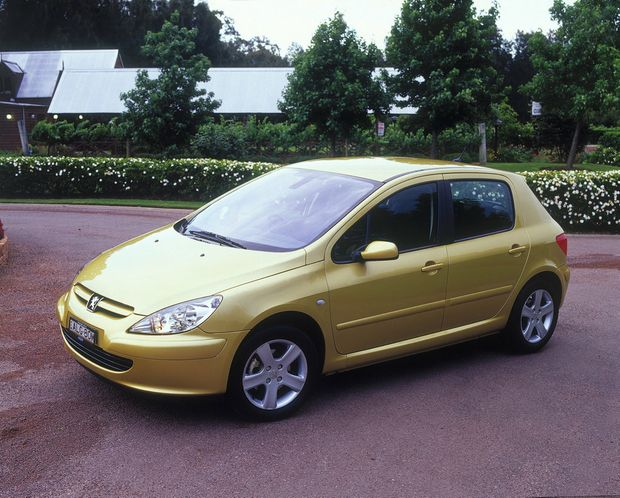 2004 Peugeot 307. Photo: Contributed