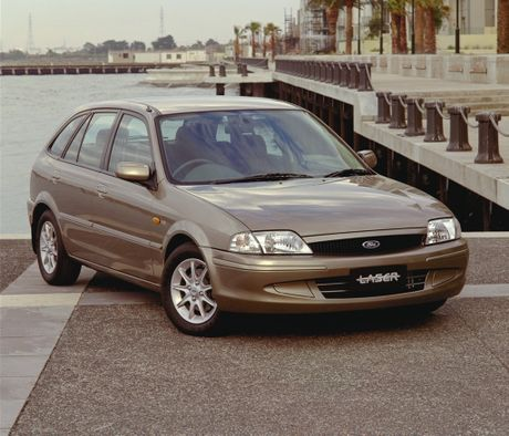 Ford Laser. Photo: Contributed