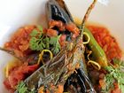 THIS recipe for baby eggplant with tomato and masala spices is a taste sensation