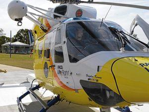 Motocross mid-air crash leaves man in hospital
