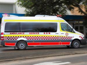 Trapped driver taken to Byron Central Hospital after crash