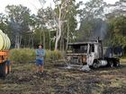 """GARY Lay was relaxing at home Saturday afternoon when he got a call from a neighbour saying """"I think your vehicles are on fire""""."""