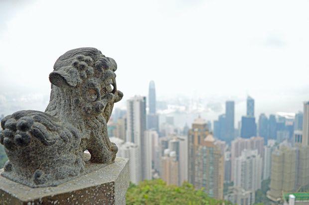 The view from The Peak, Hong Kong. Photo: Megan Mackander