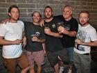 L-R Vaughan Williams, Ben Read, William Goddard, Wayne McKellar and Scott Robertson at Ginger Mule. Photo Liam Fahey / Morning Bulletin