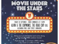 This School Holidays, bring your blanket or chair and come down and enjoy the Free Community Movie under the stars.