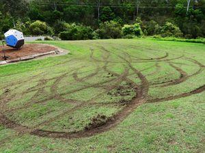 Council assessing damage after 'hoons' trash park