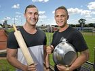 FORMER Mackay residents and My Kitchen Rules 2016 contestants Alex Ebert and Gareth Cochran will stop in at the Greater Whitsunday Farmers Markets tomorrow.