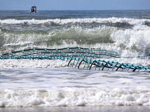 Concerns failed shark 'eco-barriers' could kill marine life