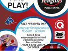 Free Come & Try - fun activities / prizes & give-aways on offer / families encouraged to attend.