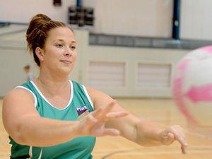 Ipswich Flyers netballer Melissa Beutel