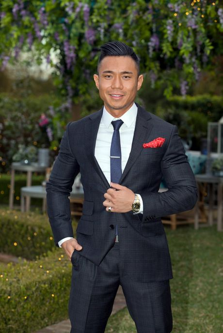 The Bachelorette contestant Carlos Fang.