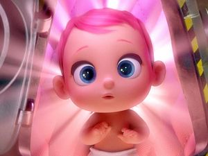 TOO CUTE: A scene from the movie Storks, which is showing at Bowen Summergarden Cinema this week.