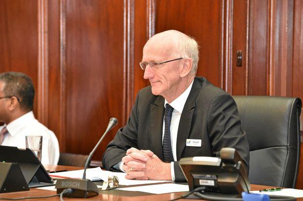 PRAISED: Fraser Coast Regional Council Mayor Chris Loft.