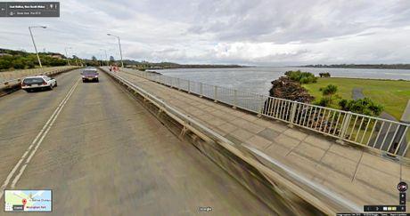 Beautiful roads: Missingham Bridge in Ballina when the river is clean.