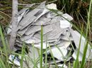 THOUGHTLESS dumpers have been at it again with a pile of what is believe to be asbestos material left in a reserve favoured by locals.