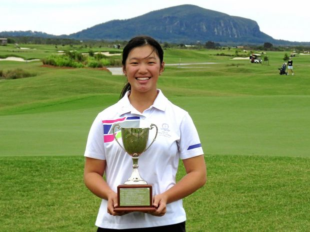 BRIGHT FUTURE: Ashley Lau will eye a professional career after taking out the Katherine Kirk Classic at Maroochy River this week.