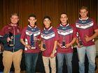 The Border Bushrangers have won big at the BRL awards presentation night after a succesful first season.