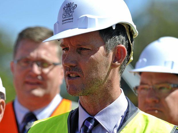 Queensland Minister Mark Bailey.