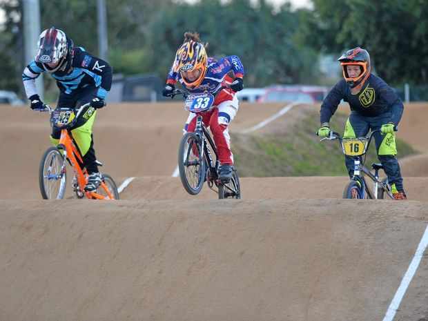 Mackay Pioneer BMX Club will be able to put in lighting facilities with the grant funding to allow more training.