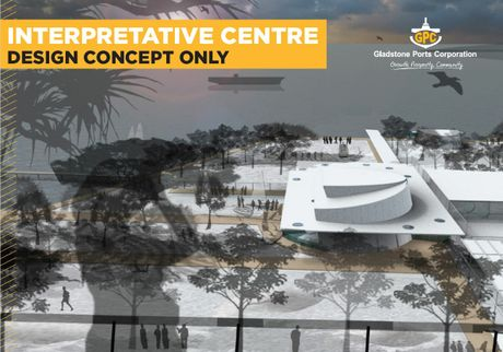 MASTER PLAN: Artist impression of Gladstone's 'cruise ship hub'.