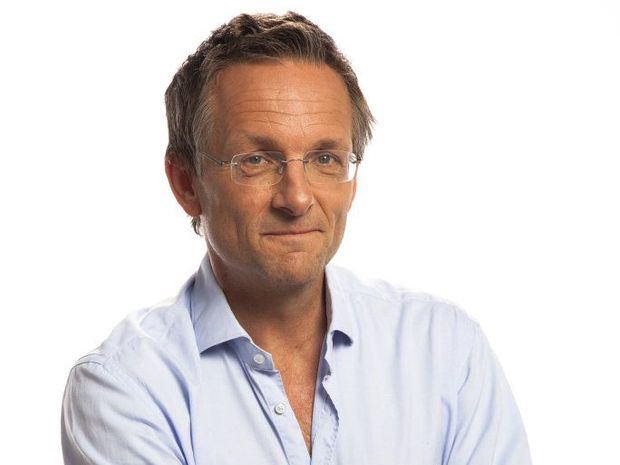 Journalist and TV presenter Michael Mosley.