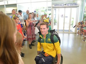 Paralympians return to Bundaberg