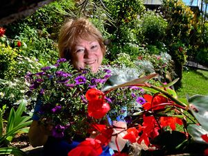 BLOOMIN' BEAUTIFUL: Teddy Gove will showcase her garden in the Buderim garden festival.