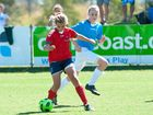 MORE than 220 of the best young female footballers from around the Northern NSW region are in Coffs Harbour for the annual Telstra State Championships for Girls