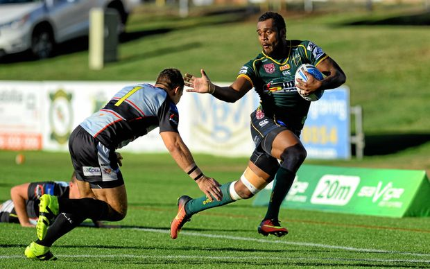 VALUABLE PAIR: Queensland Residents and Queensland Rangers representatives Nemani Valekapa and Chris Ash (insert) have cemented their futures with the Ipswich Jets until the end of the 2018 season.
