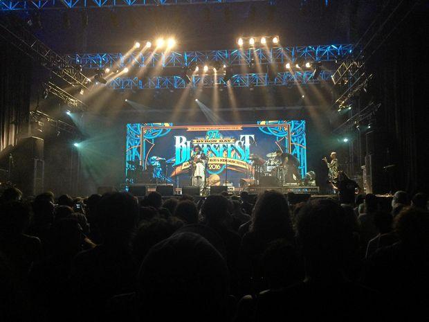 Saxophonist Kamsai Washington put a huge show on at Bluesfest.
