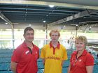 WIRAC staff, David Jordan, Phillip Boon and Karen Peters.