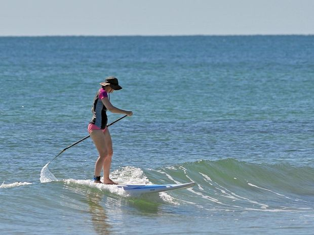 Stand Up Paddle has been the board of choice this week.
