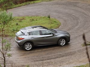 Infiniti QX30 all-wheel-drive SUV road test and review