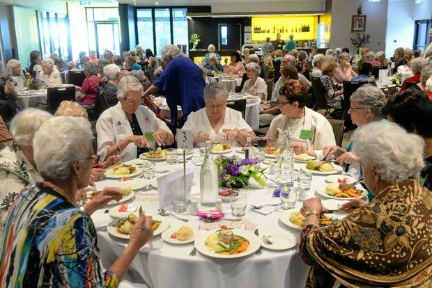 SUPPORT: War Widows Friendship Day.