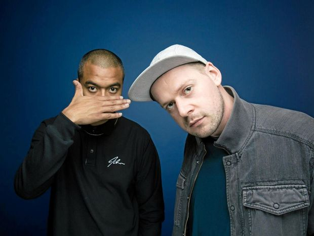 RAPPING THE COAST: Aussie rap duo Horrorshow.