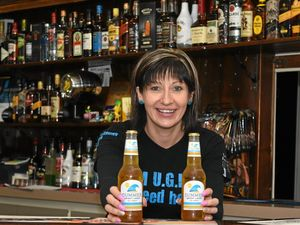 GENEROUS AND LIKEABLE: Laidley bartender Jamie-Lee McCluskey came second in the UGLY Bartender of the Year competition.