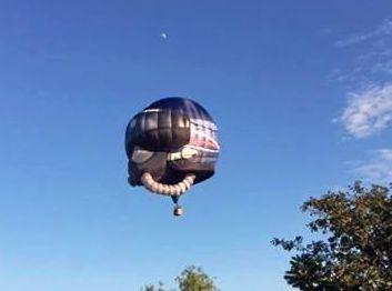 Australian Air Force Balloon taking off at Walkerston.