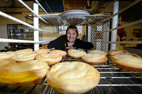 Tracey Foster from Bowen's Bakery, South Lismore that has recently reopened. Photo Patrick Gorbunovs / The Northern Star
