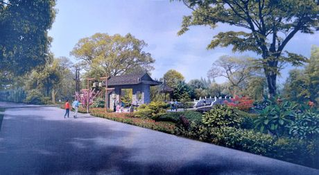 The city of Nanning in China has gifted Bundaberg $1.6million for a new Chinese gardens.