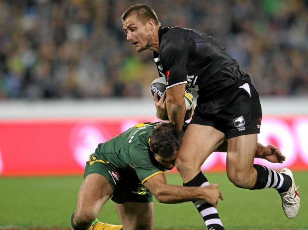 KIWI RETURNS HOME: Kieran Foran will be a great addition to the NZ Warriors next year.