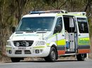 A child has been taken to hospital following a crash on the Cunningham Hwy this morning.