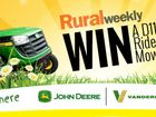You can ENTER to WIN a fantastic John Deere D110 Ride-On Mower for Dad, this Christmas!