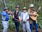 THE Bush Turkey Band, faited as rock stars the last time they visited China, have headed back there again on a cultural exchange to promote the Sunshine Coast.