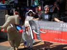 EUMUNDI residents gather to march for elephants and rhinos