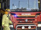 A HOUSE burnt down at Crediton overnight and Queensland Police are investigating how the fire started.