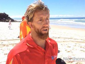NSW Surf Lifesaving spokesperson speaks