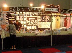 CAREFULLY MADE: The World of Lace at a previous show.
