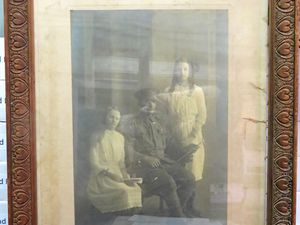 Old WW1 photograph presents a mystery